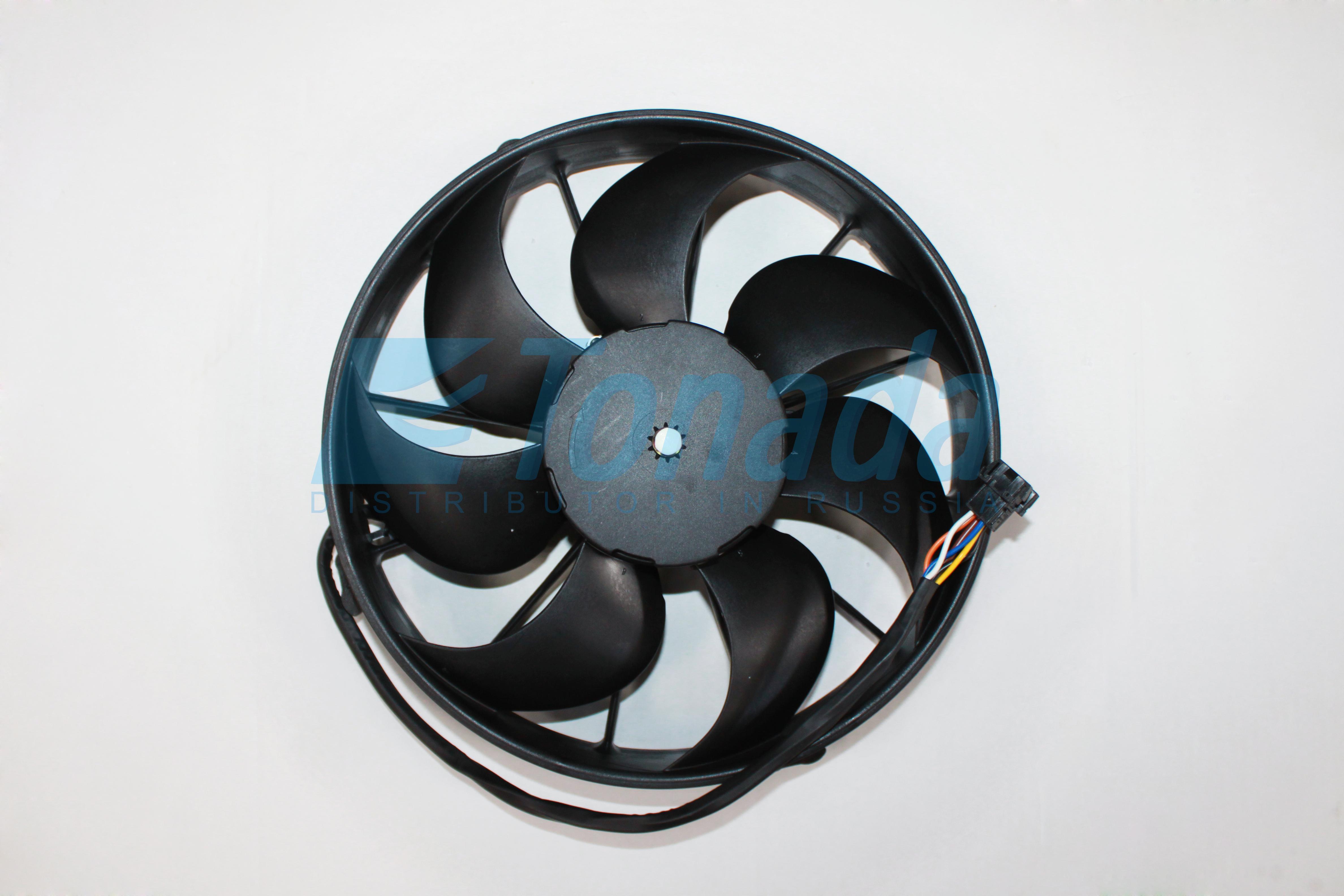 Вентилятор бесщеточный аналог Spal VA51-BP70/LL-69A (Переменная скорость)