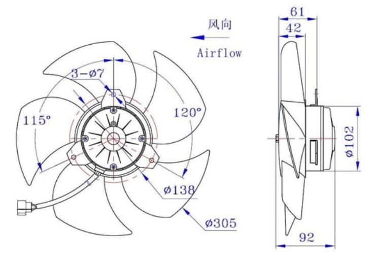 Вентилятор Denso 168000-6563